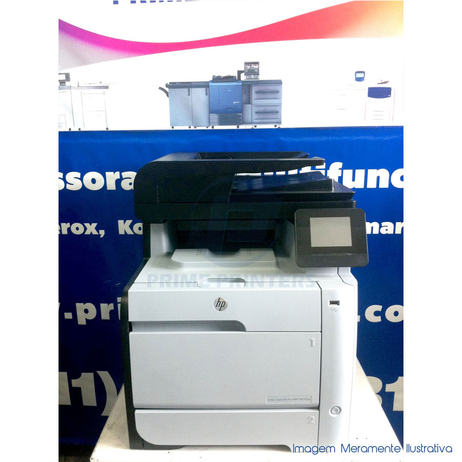 HP M476DW Multifuncional Colorida Laser Seminova