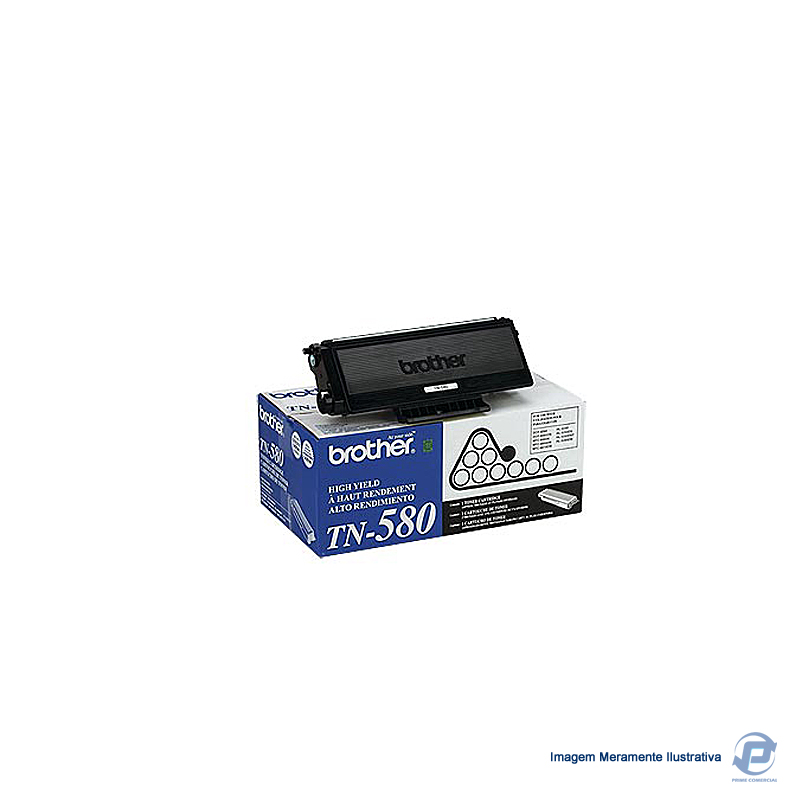 Toner Brother Original TN 580 Black